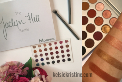 The New Jaclyn Hill x Morphe Palette | Swatches & Review