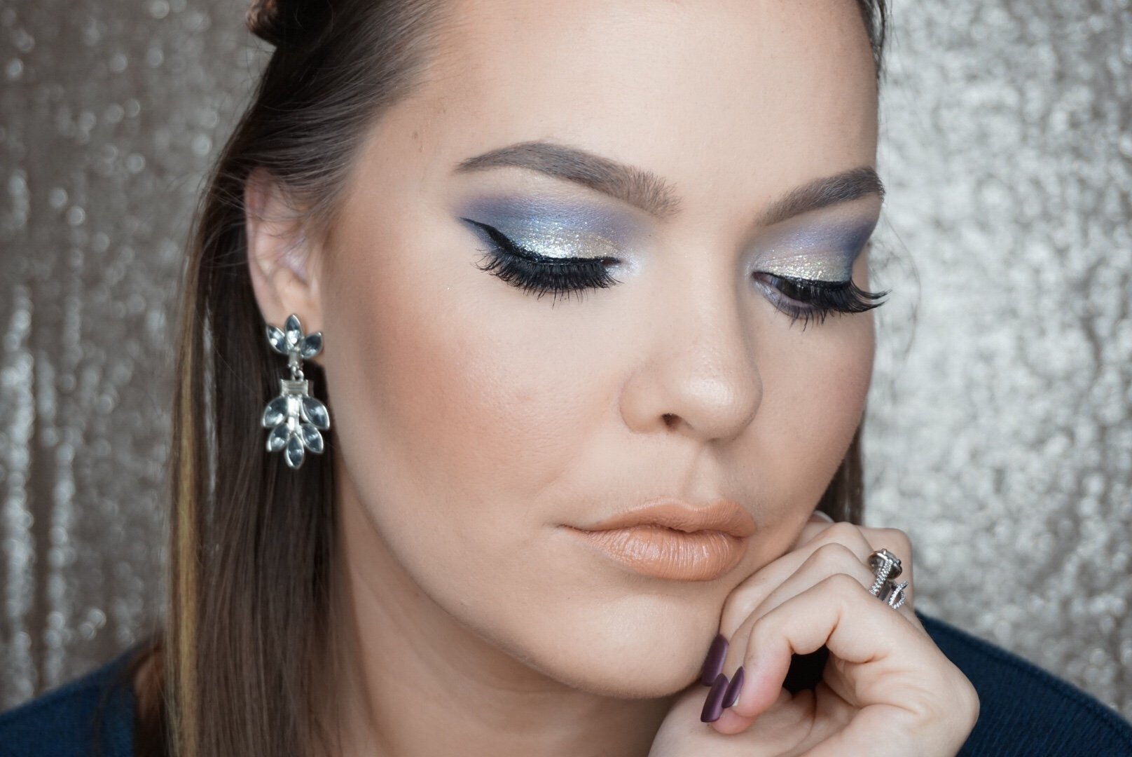 silver bells makeup