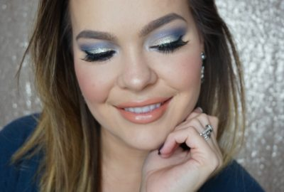 Holiday Makeup Look – Royal Blue + Silver | Beauty Mix Series