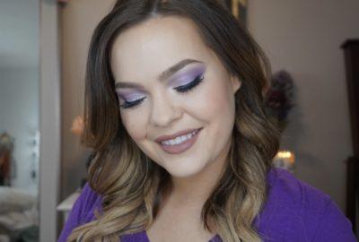 Pantone Ultra Violet Makeup Look