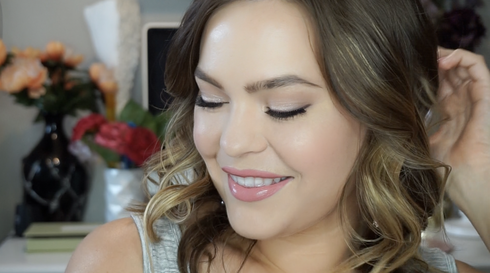 spring makeup look easy tutorial