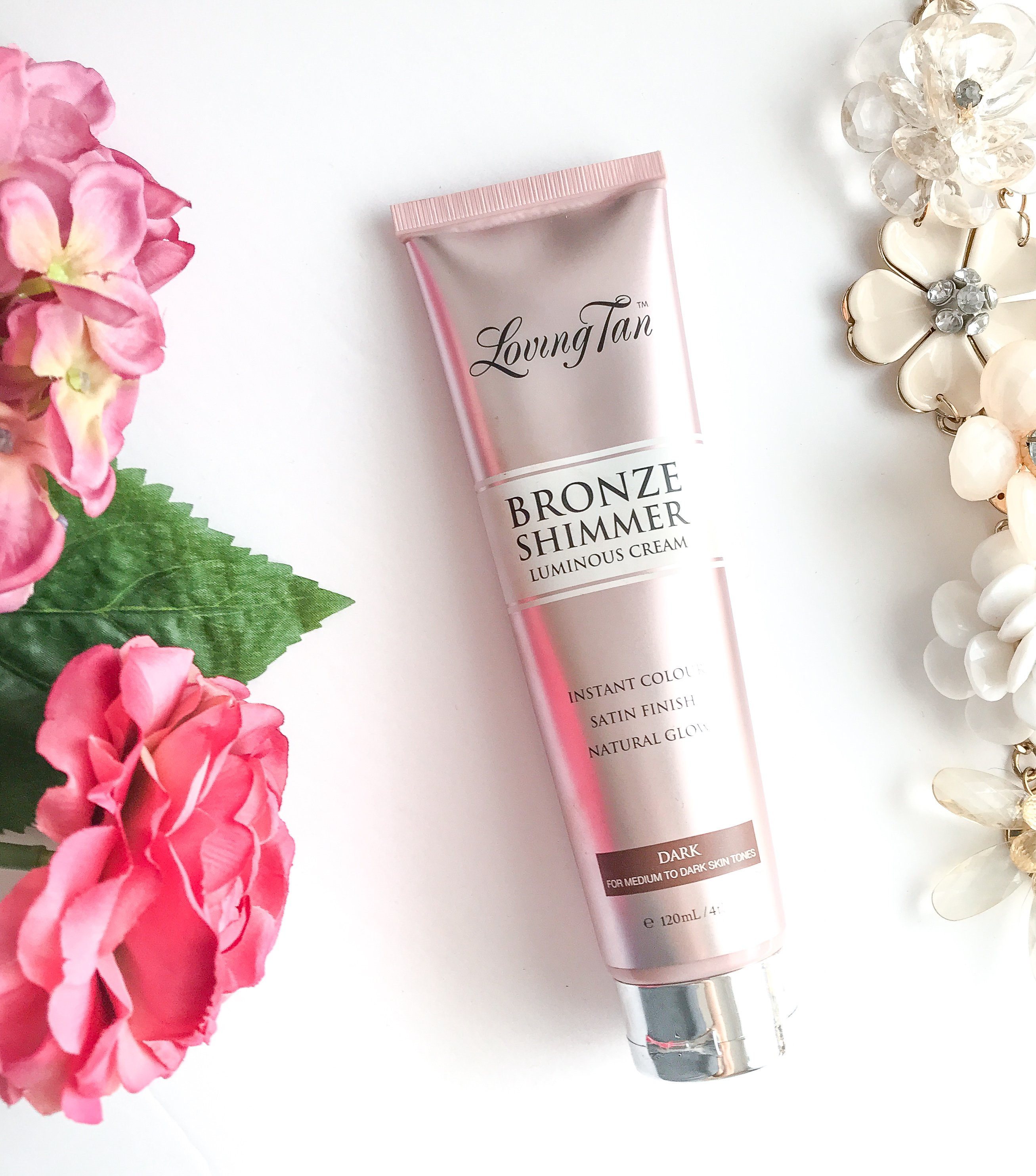 e0ea6f66a0100 Loving Tan Bronze Shimmer Luminous Cream | Review - Kelsie Kristine