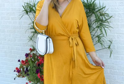 Summer to Fall $25 Yellow Dress