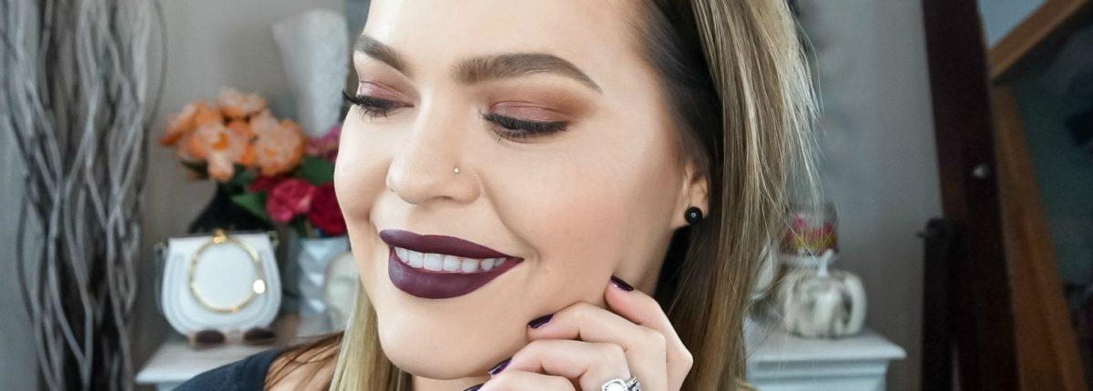 Beauty Mix | Simple Vampy Makeup Look