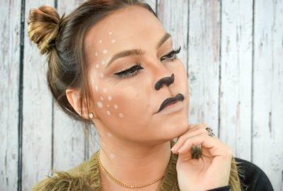Beauty Mix | Deer Makeup Look for Halloween