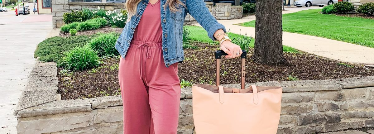 One Jumpsuit Styled 3 Ways | Travel Outfit + Playlist