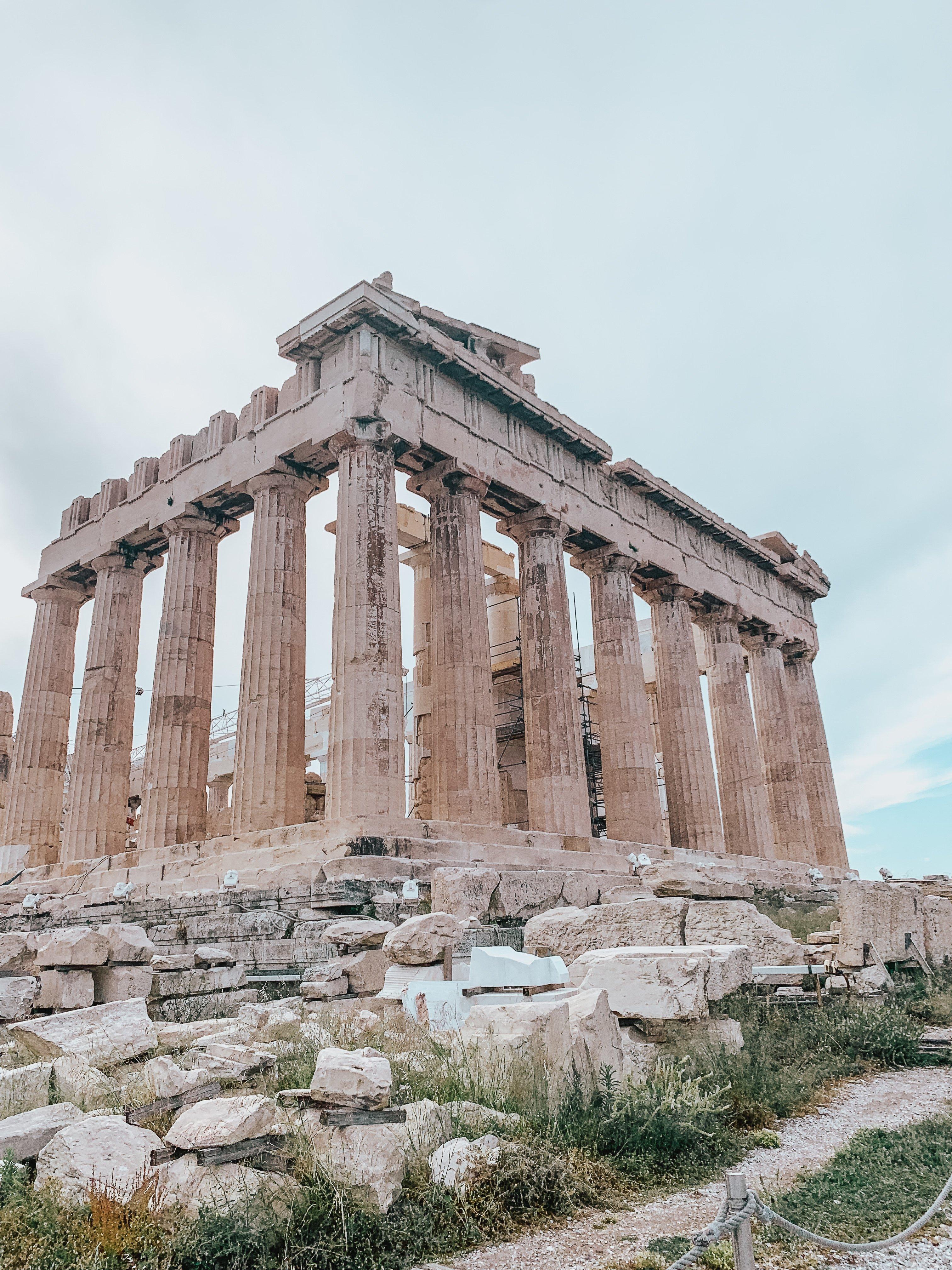 parthenon acopolis
