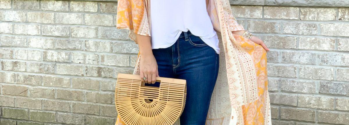 How To Style a Kimono 5 Ways