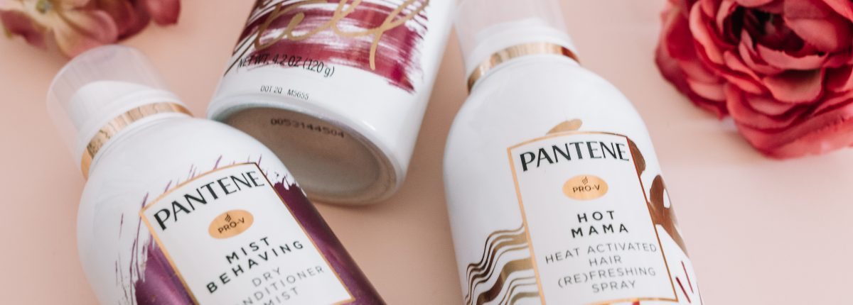 How to Refresh Day 2+ Hair Using the Pantene Waterless Collection