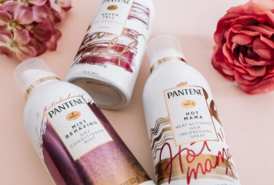 pantene waterless collection