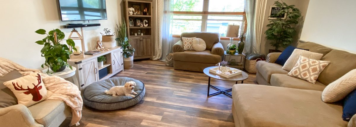 HOME RENOVATION SERIES: EP 1: LIVING ROOM New Flooring