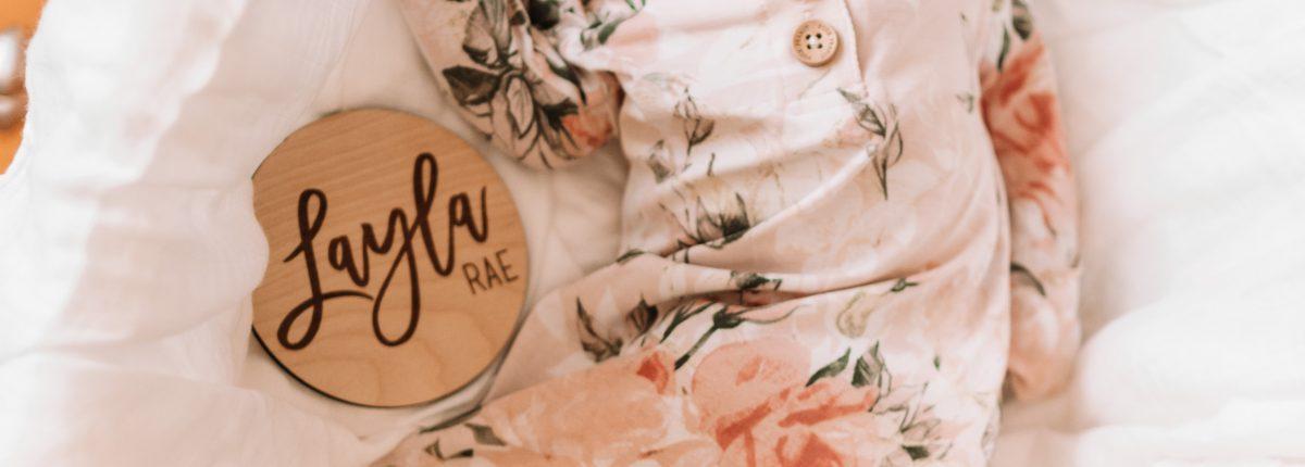 Layla Rae's Birth Story & VLOG